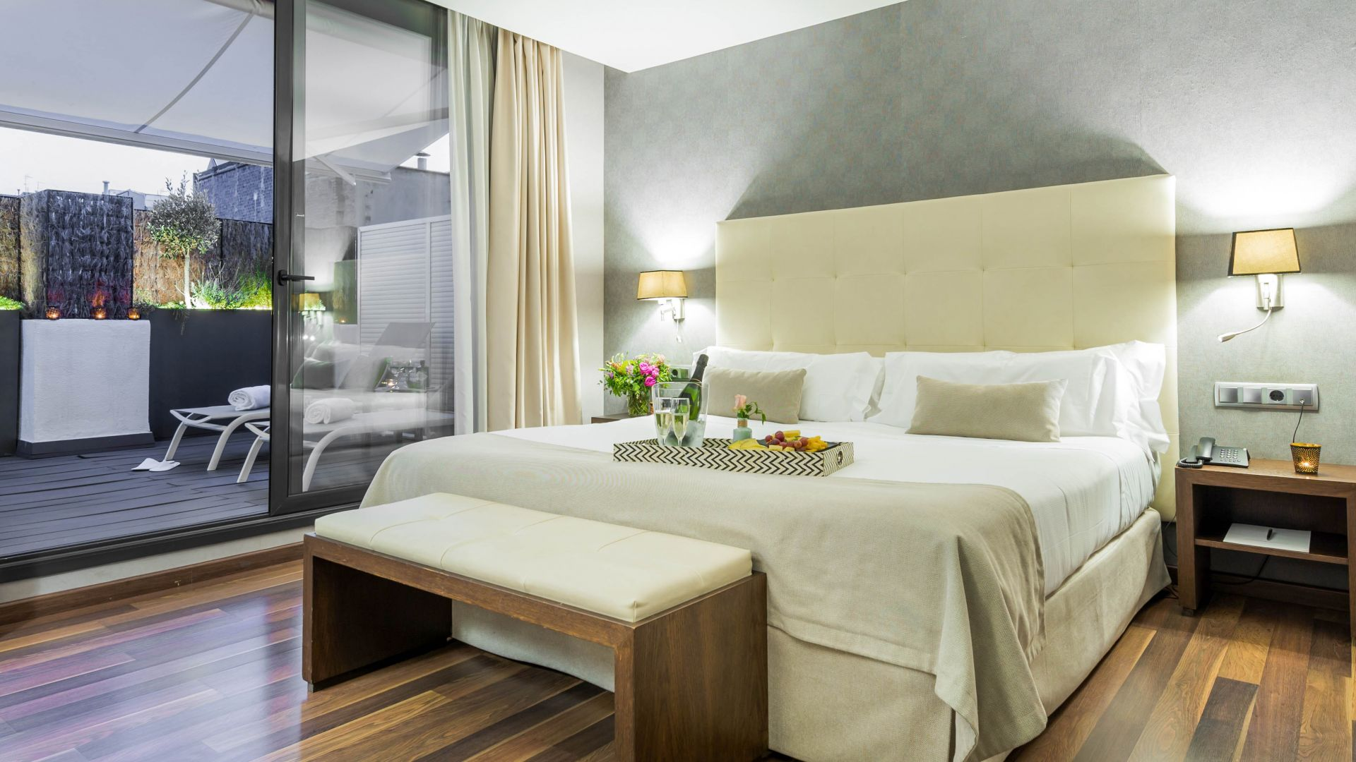 Junior Suite amb terrassa i jacuzzi