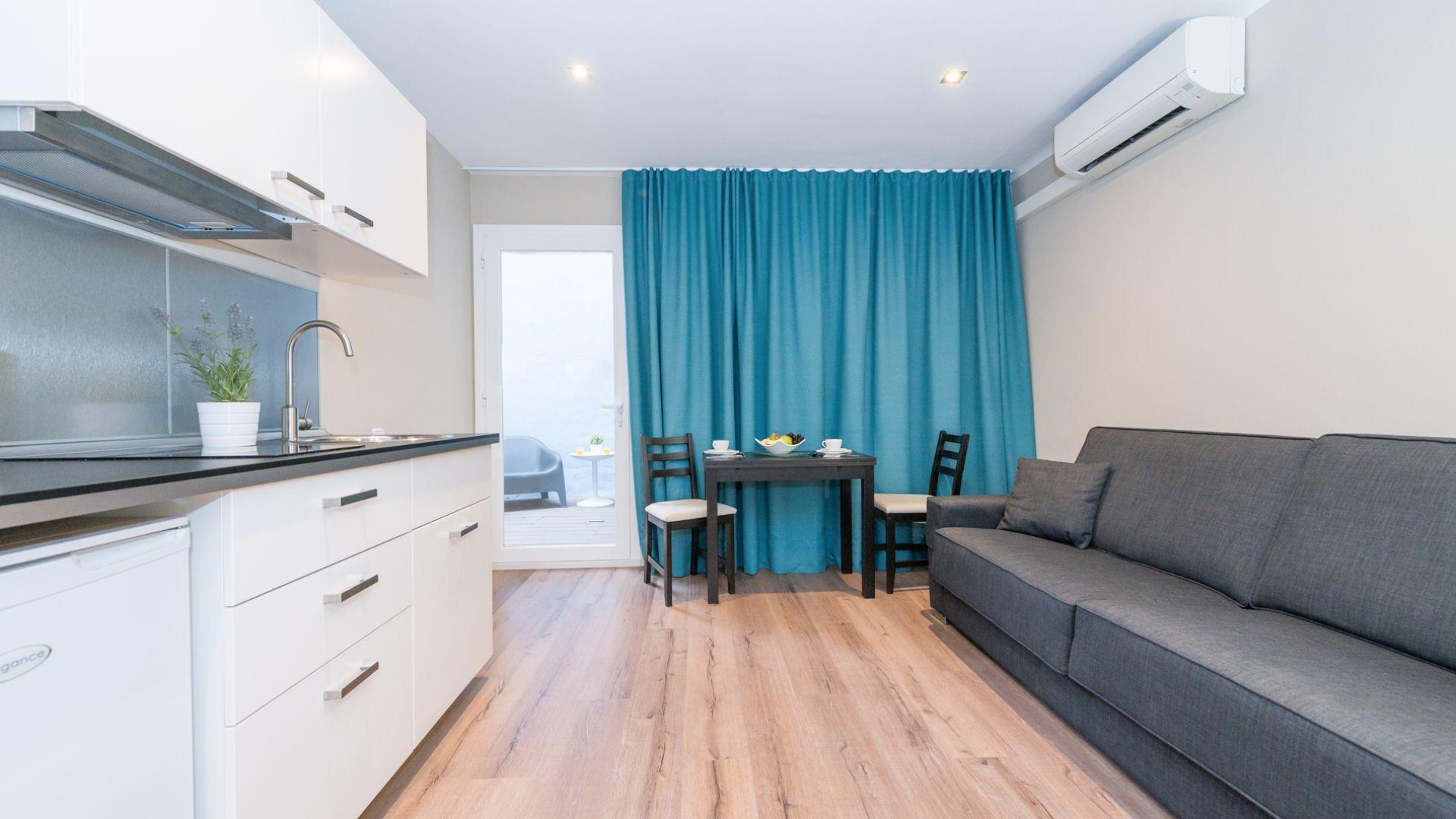 Apartamento Loft con terraza