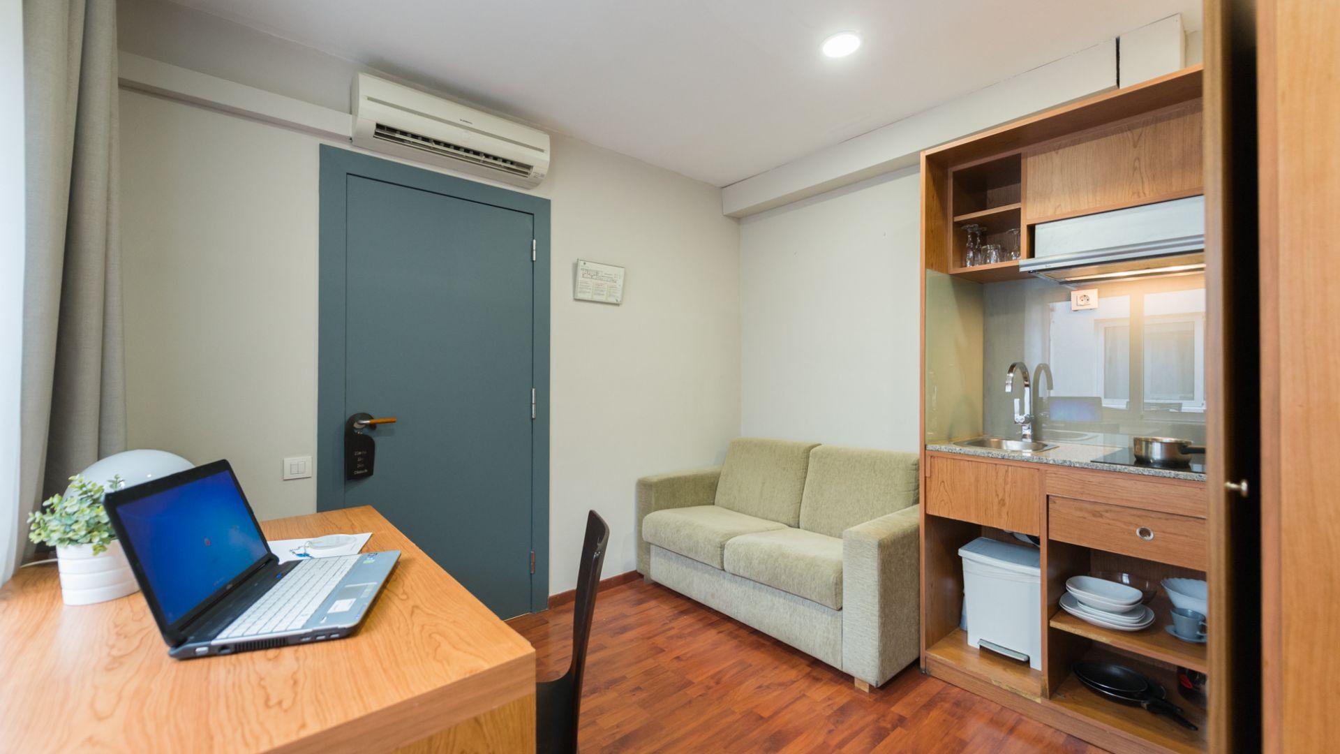 Habitacion doble con cocina